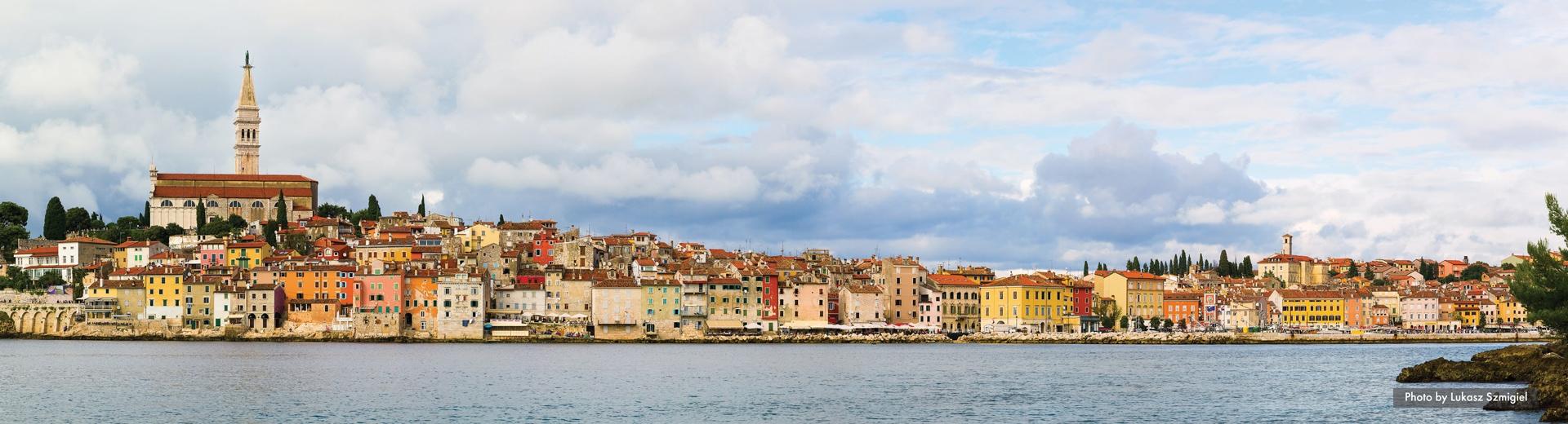 discover croatia rovinj view