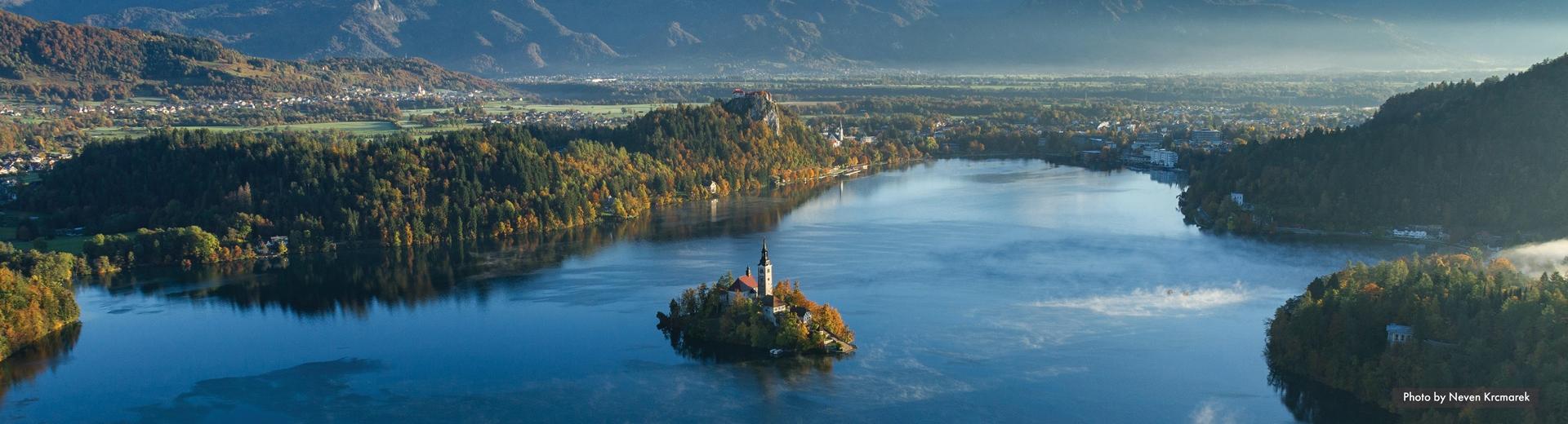 discover slovenia lake bled