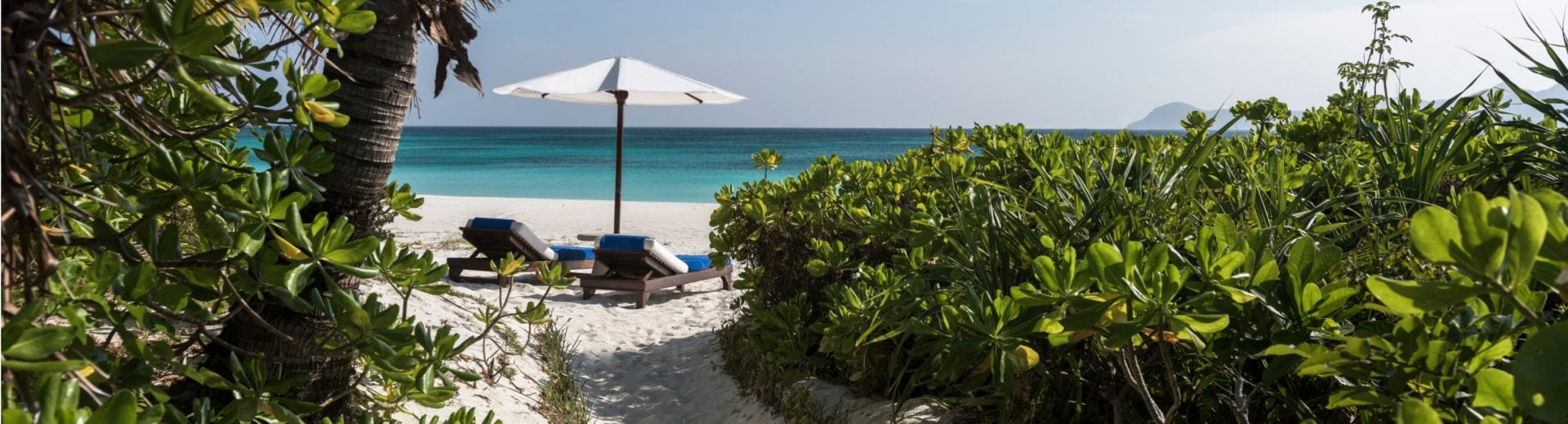 Amanpulo beach resort sea view