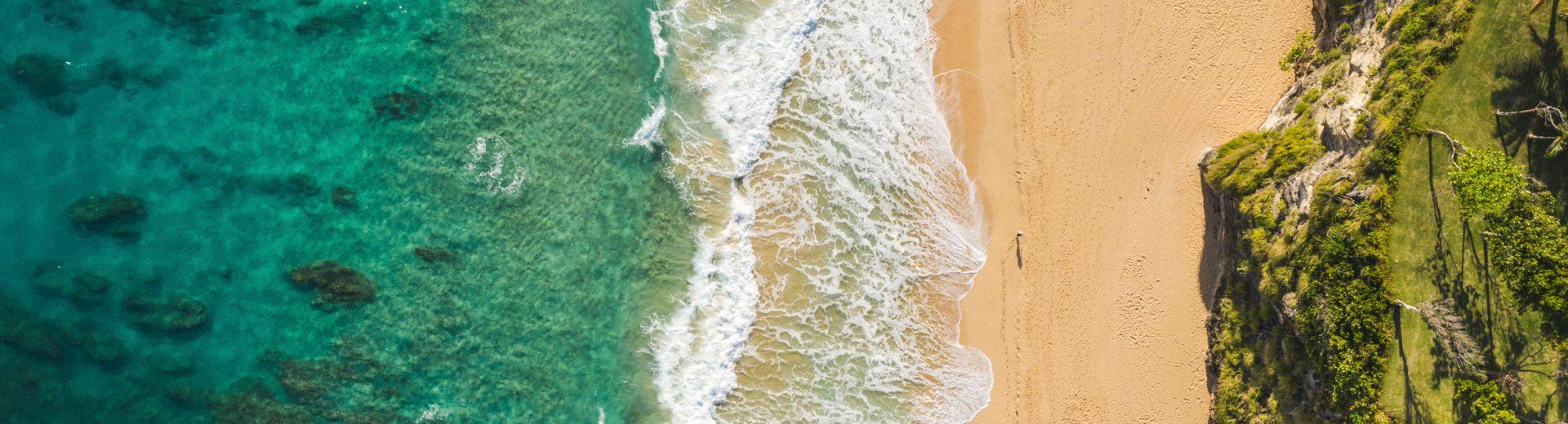 Amanera's beach in the Dominican Republic. Courtesy Aman Resorts