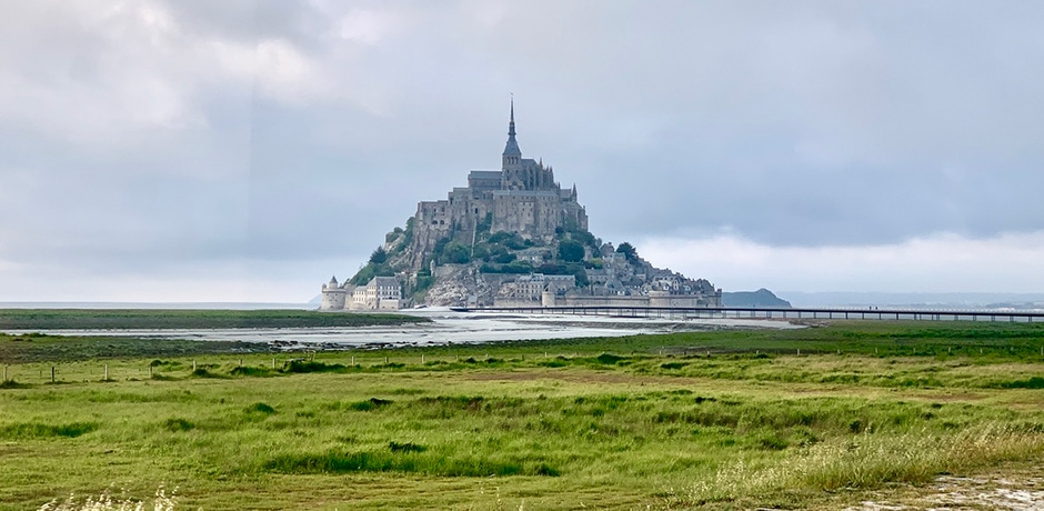 Mont St. Michel, Normandy. Photo by Ried Stelly, courtesy Indagare