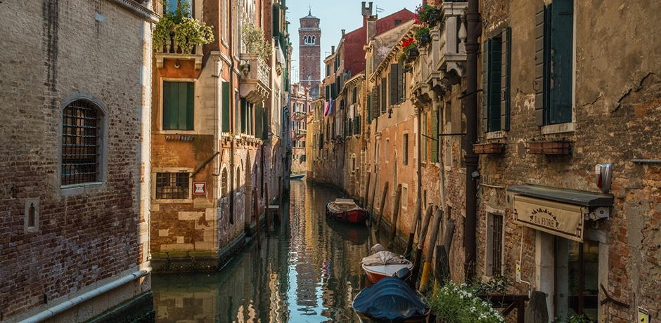 Venice view. Photo by Colin Heinrich, courtesy Indagare
