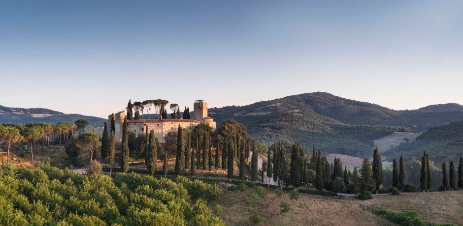 Courtesy Castello di Reschio, Umbria, Italy