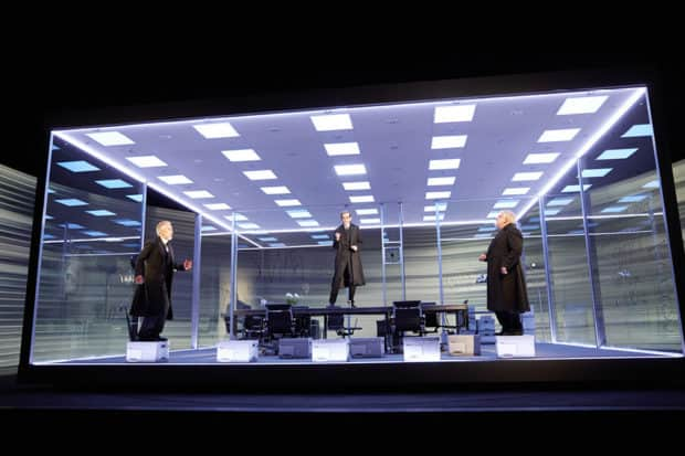 The Lehman Trilogy at the National Theatre, London. Courtesy Mark Douet.