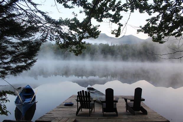 The Adirondacks. Courtesy Eliza Harris