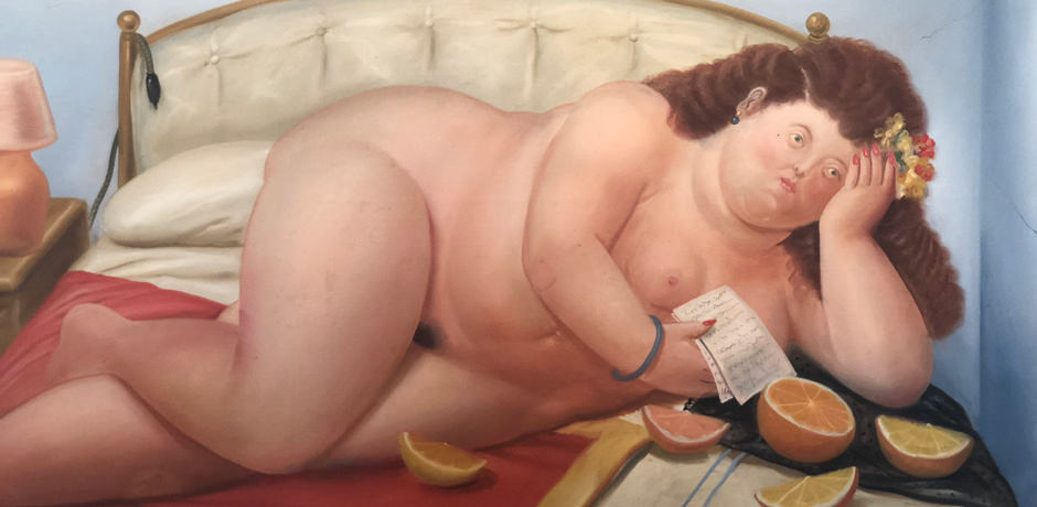 The Botero museum contains works of Colombia's most famous painter as well as those whose works he admired such as Picasso and many French Impressionists.