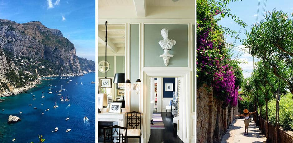 Capri: Courtesy JK Place