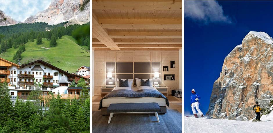 The Dolomites: Courtesy Rosa Alpina, DG Bandion