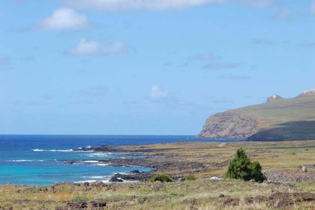 Sea View - Surfing Lessons,Easter Island, Chile