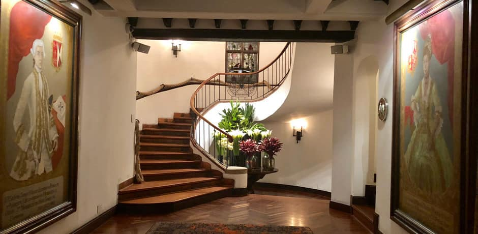 Many original details of the original historic house have been maintained in the Four Seasons Casa Medina