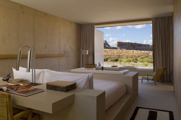 Amangiri views in Canyon Point, Utah, Courtesy Amangiri