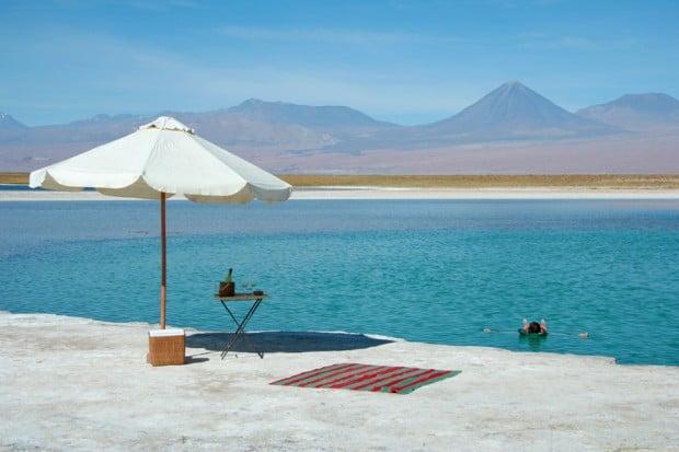 Waterfront at Awasi, Atacama Desert, Chile