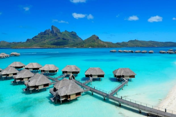 Courtesy Four Seasons Bora Bora