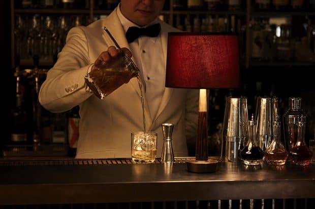 The bar at the Hotel Sanders, Copenhagen