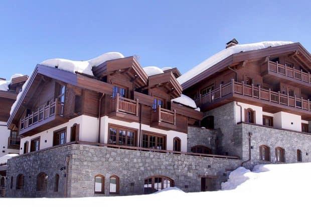 L'Apogée ski lodge at Courchevel France