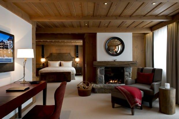 Suite at Alpina ski resort in Gstaad