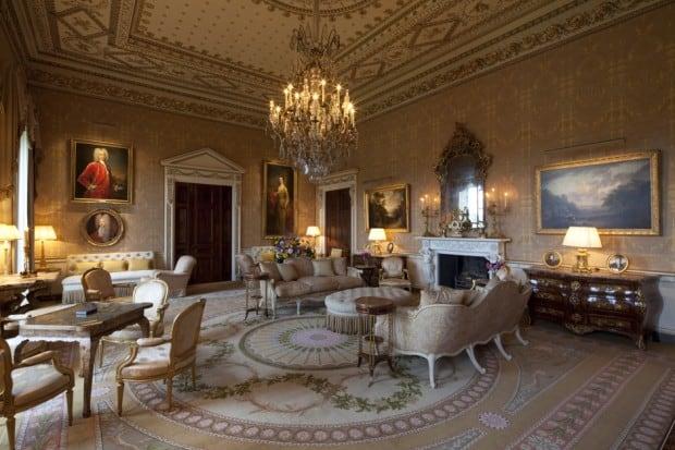 The Gold Room at Ballyfin