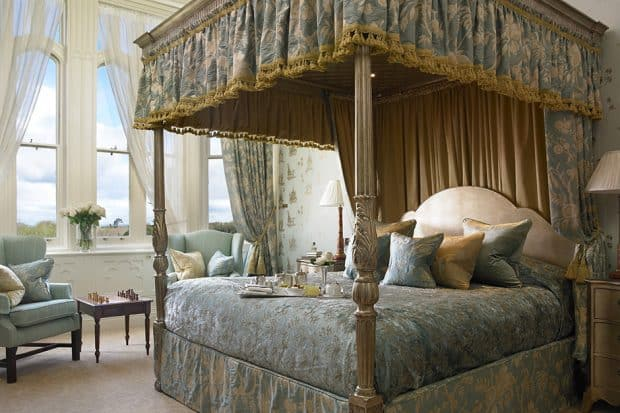 The Presidential suite at Dromoland Castle