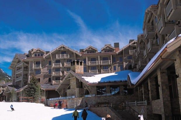 Four Seasons ski lodge in Jackson Hole Wyoming