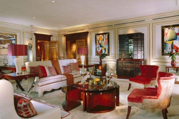 Imperial suite at Hotel Principe di Savoia, Milan, Italy