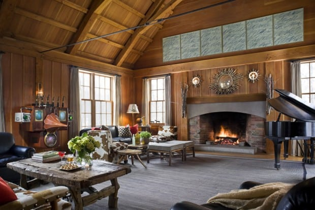 Lounge at Twin Farms, Vermont