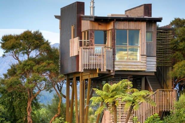 Treehouse at Hapuku Lodge