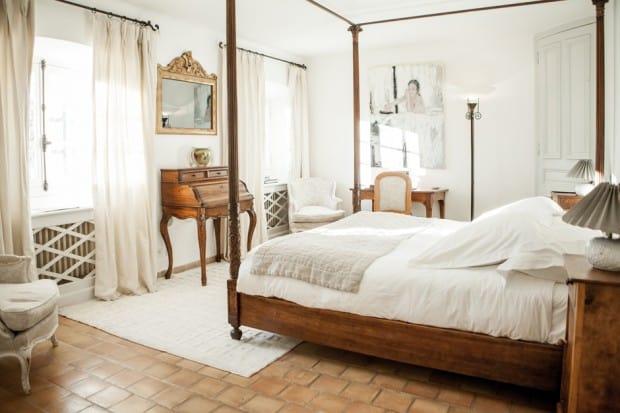 Room at La Bastide de Moustiers hotel near Gorges du Verdon in France