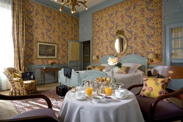 Room at La Mirande in Avignon France