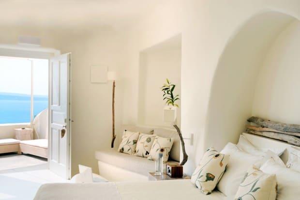 Suite at Mystique on Santorini Greece