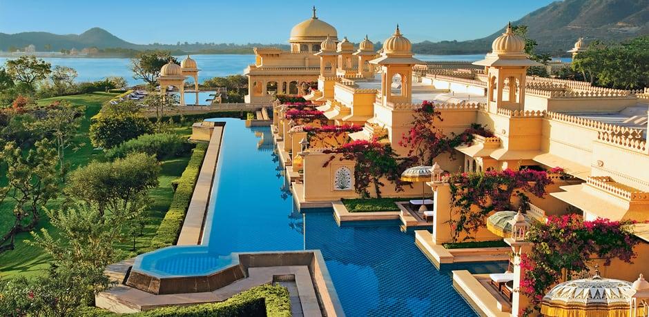 The Oberoi Udaivilas, Udaipur, Courtesy Oberoi Hotels & Resorts