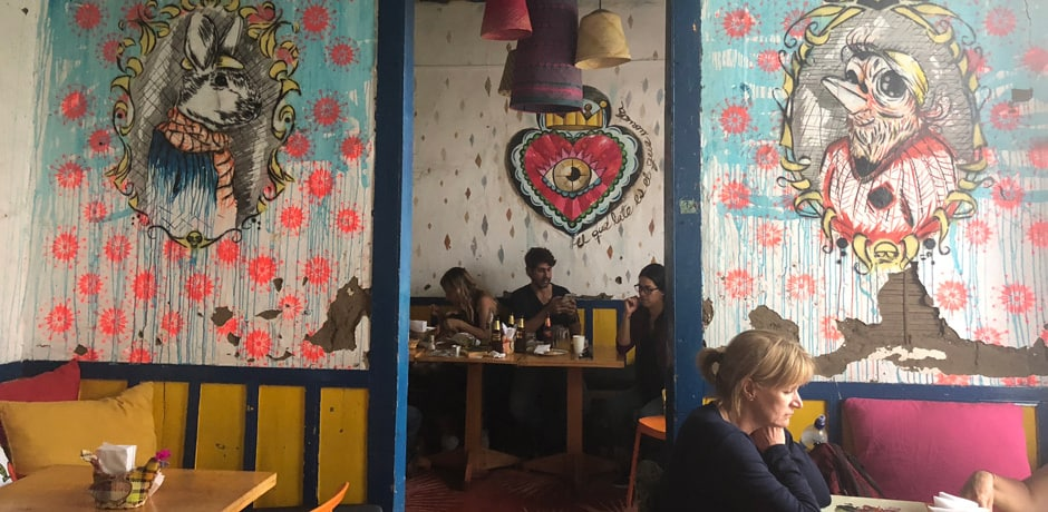 One of Colombia's most innovative restaurants, Helena, is in the town of Finlandia and draws foodies from around the world.