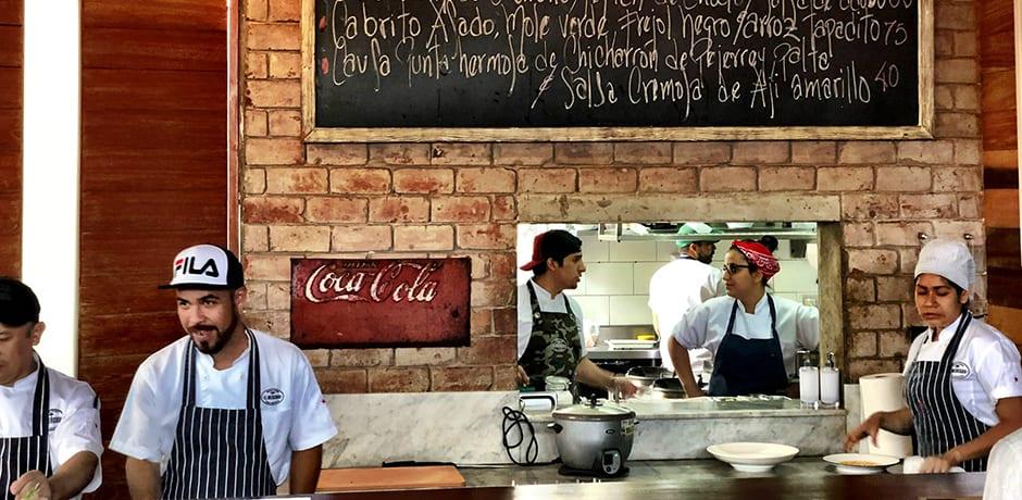 Chef Rafael Osterling's newest hot spot: El Mercado