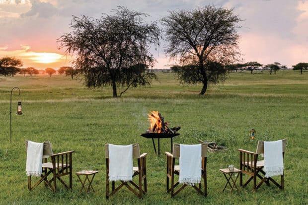 indagare insider journeys singita grumeti sabora camp sunset tanzania