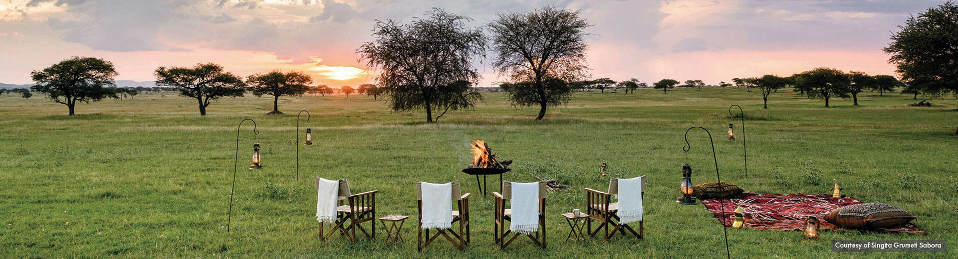 indagare insider journeys singita grumeti sabora camp sunset tanzania