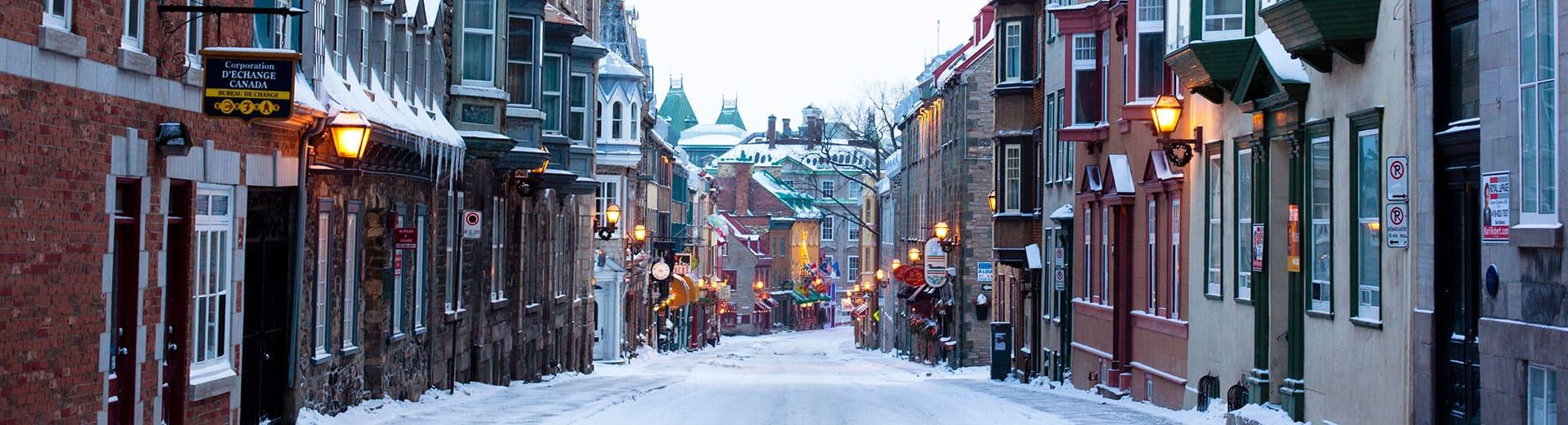 quebec city canada winter