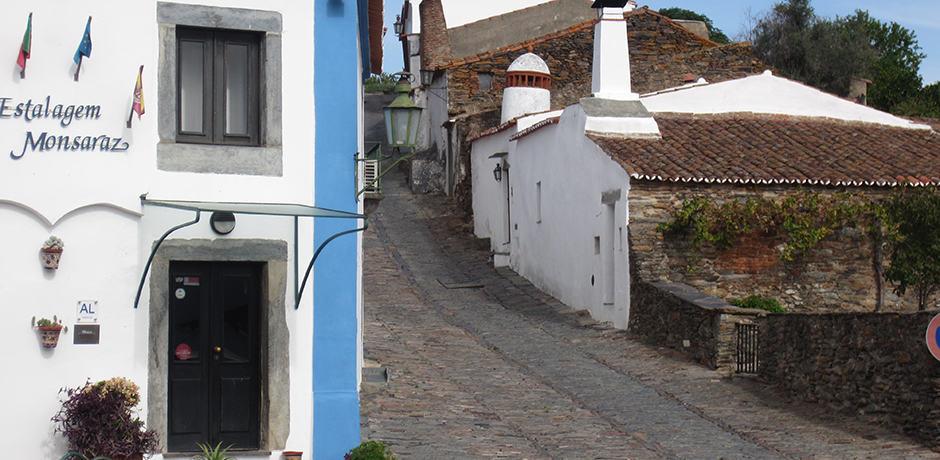 Near the border of Spain, Monsaraz is a quaint hilltop village