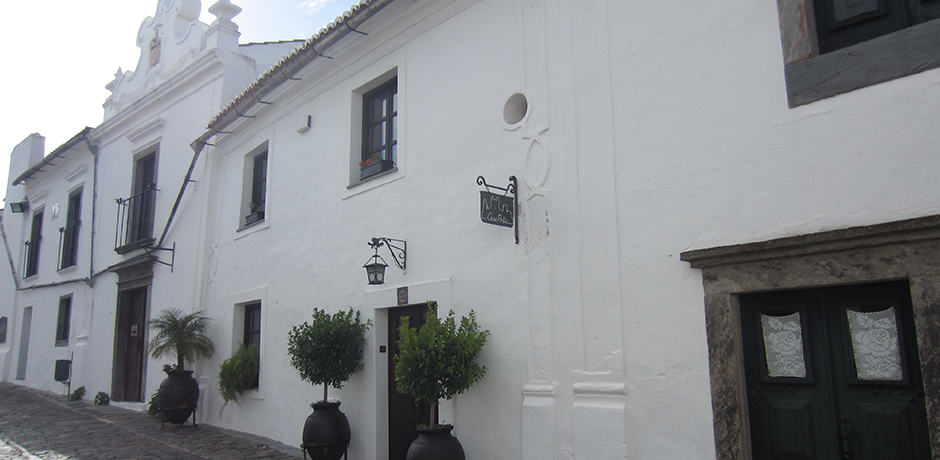 White-washed facades in Monsaraz