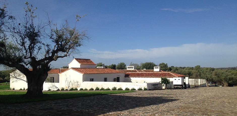 The original structure that houses São Lourenço do Barrocal's restaurant and artisan gift shop