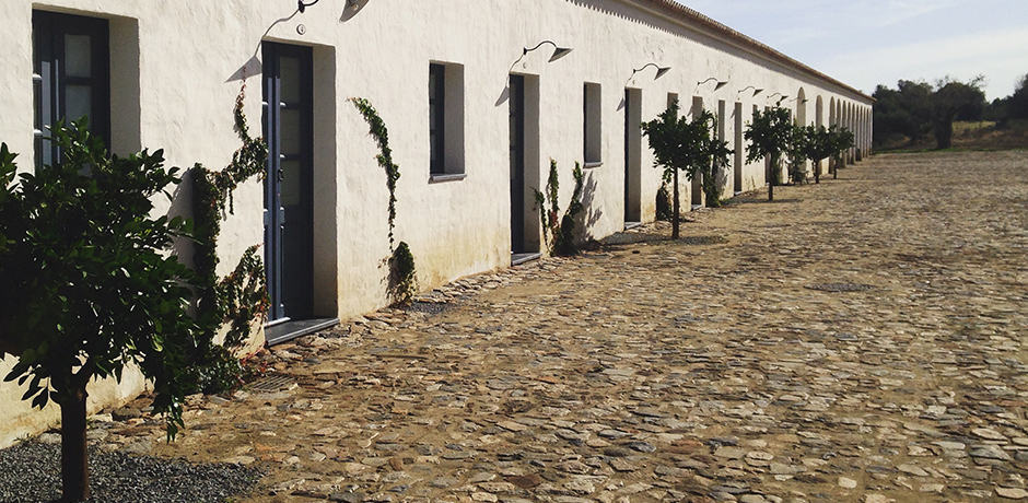 Tucked away at the foothills of the medieval village Monsaraz in Alentejo, São Lourenço do Barrocal is a preserved 780-acre estate that was previously a working farm.