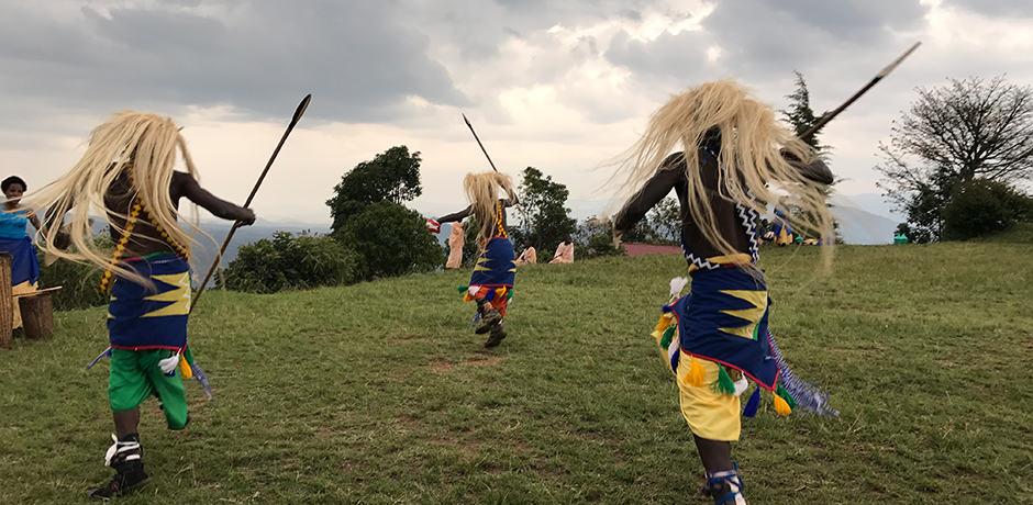 Dancers perform in Rwanda, courtesy Marina Purcell