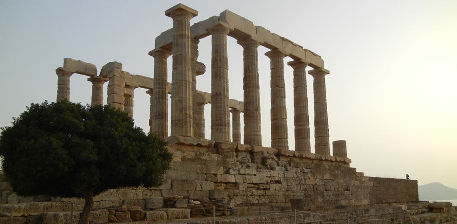 See the sunset at the Cape of Sounion, where the Temple of Poseidon sits facing the Aegean Sea.