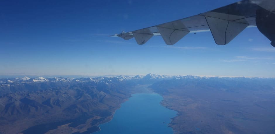The snow-capped Southern Alps stretch almost the length of the South Island and rise up to 12,218 feet in Mount Cook, known locally as Aoraki. (All photos courtesy Julian Bassermann)