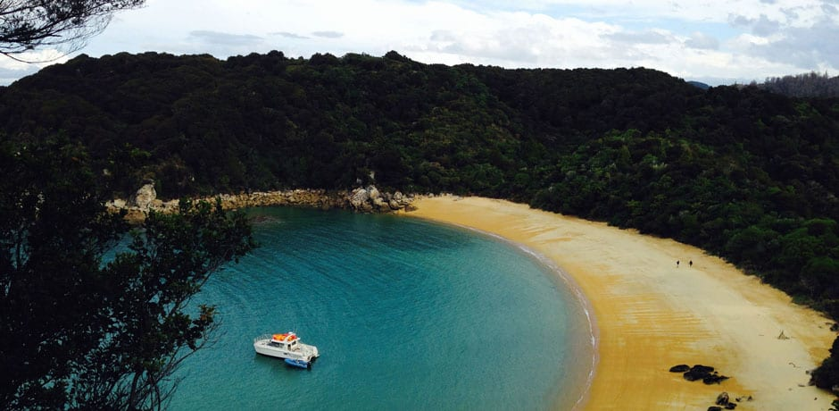 New Zealand has nearly 20,000 acres of protected national parks, including the scenic Abel Tasman, tucked into the northwestern corner of the South Island. (All photos courtesy Julian Bassermann)