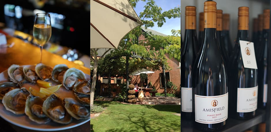 Great food and wine figure largely in a New Zealand itinerary. (All photos courtesy Julian Bassermann)
