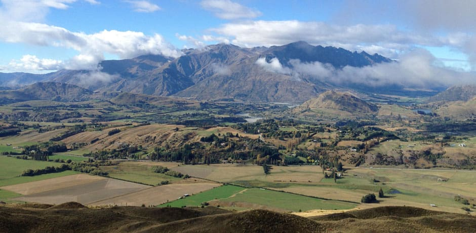 Some of the most extraordinary scenics are found around Queenstown, on the South Island, where many scenes of The Lord of the Rings were filmed. (All photos courtesy Julian Bassermann)