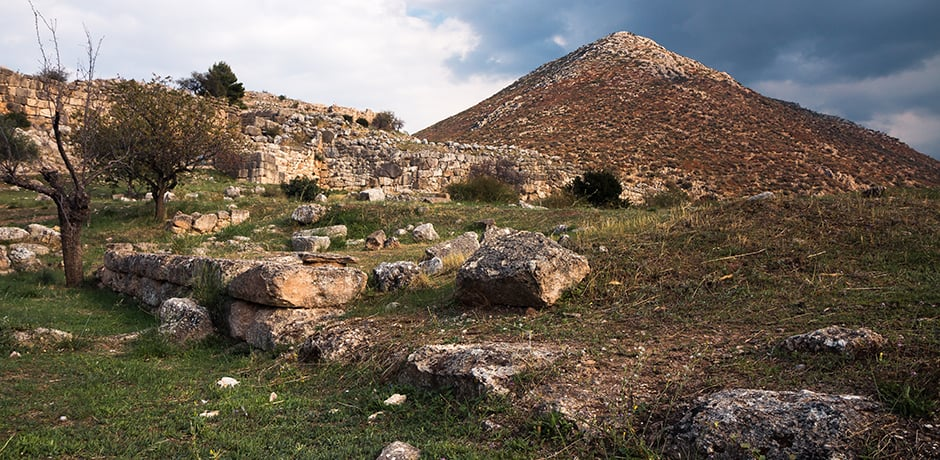 The ancient city of Mycenae makes a great stopping point on the way to Amanzoe