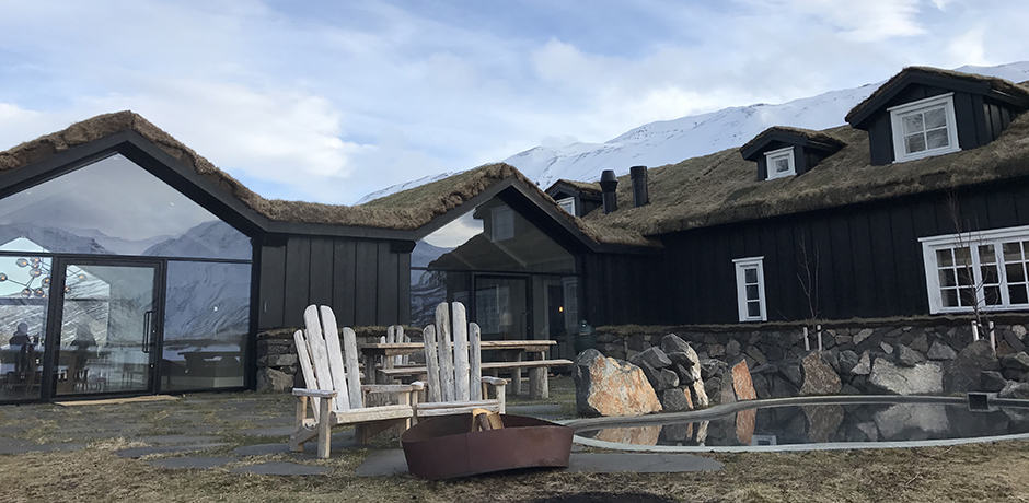 The 13-room Deplar Farm is located in northern Iceland and is the most pampering property in the country.
