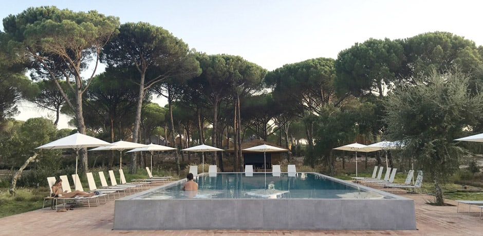 Sublime Comporta is a sleek boutique hotel in a region of sand dunes, pine tree groves and rice paddy fields