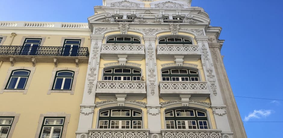Don't forget to look up! Lisbon's architecture stuns at every turn