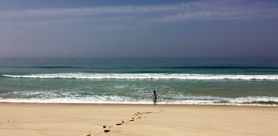 A blissfully uncrowded beach near the village of Comporta on the Tróia Peninsula